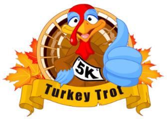 Oak Creek Turkey Trot 5K registration logo