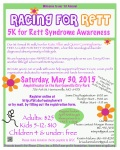 Racing For Rett registration logo