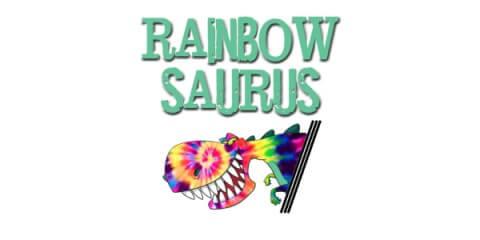 RainbowSaurus 5k registration logo