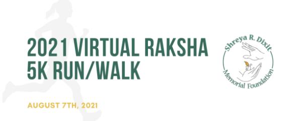 Raksha Walk/Run for Distraction-free Driving registration logo