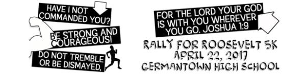 Rally For Roosevelt 5K registration logo