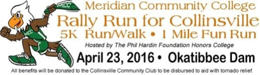 Rally Run for Collinsville registration logo