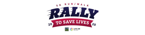 Rally to Save Lives registration logo