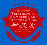 Ramseur Lake Triathlon registration logo