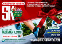 Randolph Pack the Pantry 5K registration logo