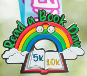 Read A Book 5K & 10K - Take A Look, It's In A Book registration logo