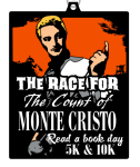 Read A Book Day 5K & 10K - The Race for the Count of Monte Cristo registration logo