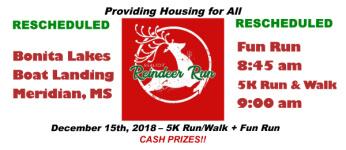 Realtor Reindeer Run 5K & Fun Run registration logo
