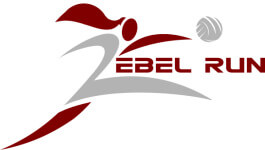 'Rebels On The Run' 5k registration logo
