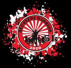 Recovery Warrior 5K registration logo