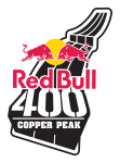 Red Bull 400 - Copper Peak registration logo