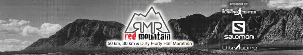 Red Mountain 50K, 30K & Dirty Hurty Half Marathon registration logo