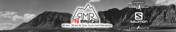 Red Mountain 50K, 30K & Dirty Hurty Half Marathon registration logo
