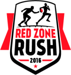 Red Zone Rush 5K and Kids Fun Run registration logo