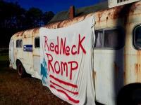 Redneck Romp registration logo