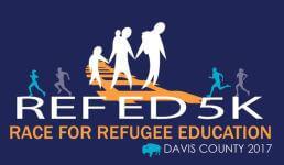 Ref Ed 5k Race for Refugee Education registration logo