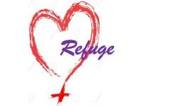 Refuge Black and Blue Run registration logo