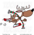 Reindeer Dash 5k and 1 Mile registration logo