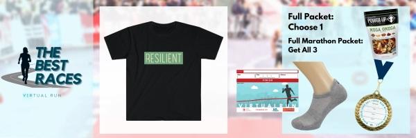 Resilient Runners Virtual Race registration logo