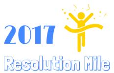 Resolution Mile  registration logo