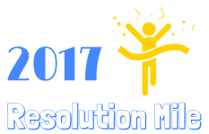 Resolution Mile  registration logo