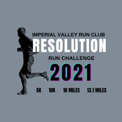 RESOLUTION RUN CHALLENGE registration logo