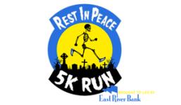 Rest in Peace 5K Run registration logo