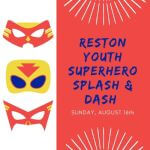Reston Splash and Dash registration logo