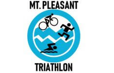 Retro Mt. Pleasant Triathlon registration logo