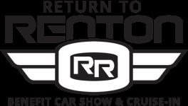 Return To Renton Car Show 2019 registration logo