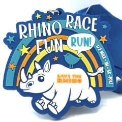 Rhino Race Fun Run 1/2 Mile, 1M 5K, 10K registration logo
