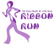 Ribbon Run 10k & 5k Run/Walk registration logo