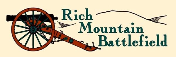Rich Mountain Memorial March and Fun Run registration logo