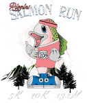 Riggins Salmon Run registration logo