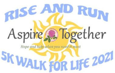 Rise and Run/Walk 5k For Life registration logo