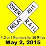 River Rail Relay registration logo