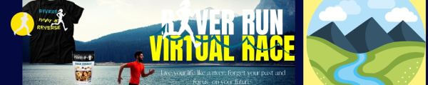 River Run Virtual Race registration logo