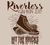 Riverless Run registration logo