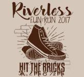 Riverless Run registration logo
