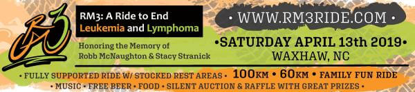 RM 3  A Ride to End Leukemia and Lymphoma registration logo