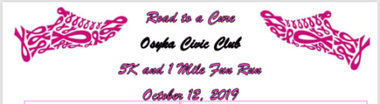 Road to a Cure 5K registration logo