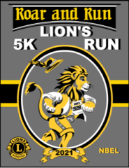 Roar & Run Lion's 5K registration logo