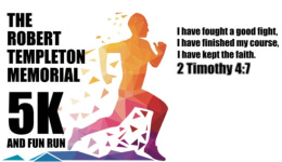 Robert Templeton Memorial 5K and Fun Run registration logo