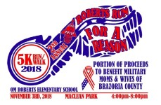 Roberts Run for a Reason registration logo