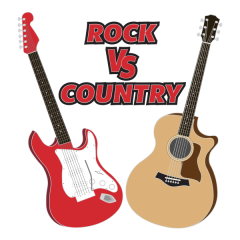 Rock VS Country Virtual Race registration logo