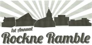 Rockne Ramble 2K & 5K Fun Run registration logo