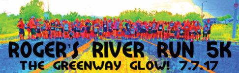 Roger's River Run 5K registration logo