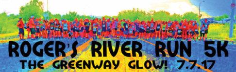 Roger's River Run 5K registration logo