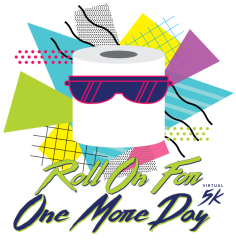 Roll On For One More Day Virtual 5K registration logo