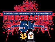Ronald McDonald House Firecracker 5k registration logo